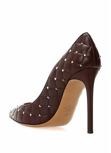 Valentino Ayakkabı Bordo